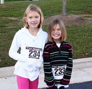Girls race