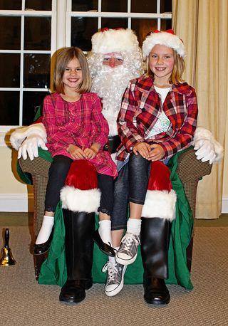 Girls santa