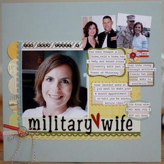 Military wife SBE feb 2011