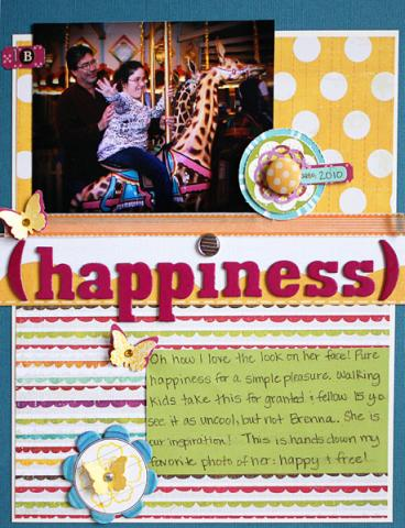 Happiness layout