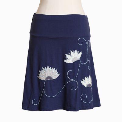 Ruche skirt