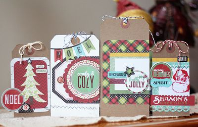 Holiday tags full