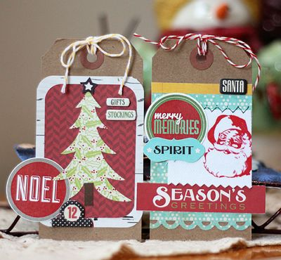 Holiday tags small