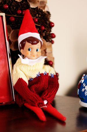 Sweater elf