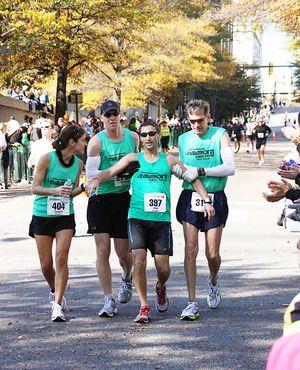 Marathon helpers