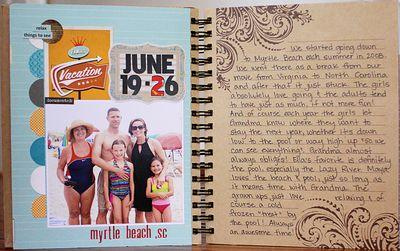 Summer album page 2-3