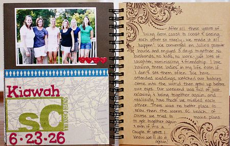 Summer album page 8-9