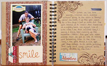 Summer album page 14-15