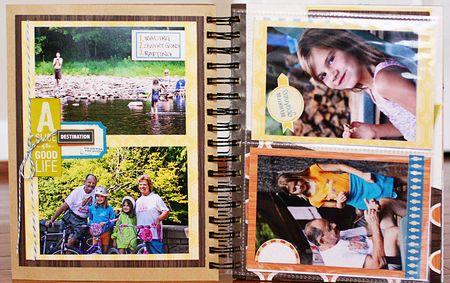 Summer album page 16-17