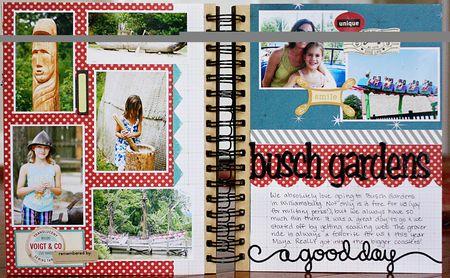 Summer album page 26-27
