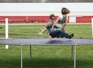 Lori maya trampoline
