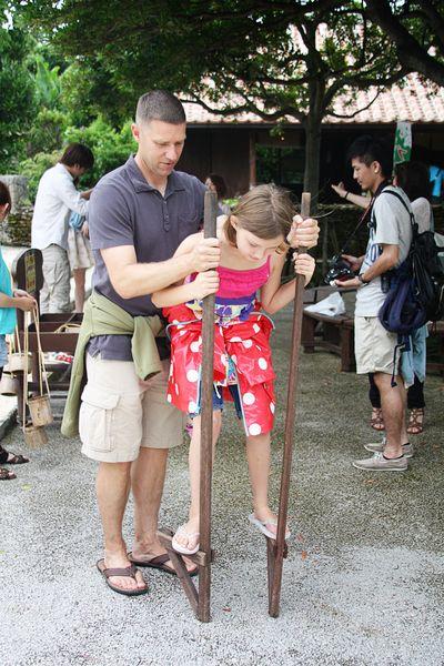 Maya stilts