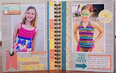 Summer album page 4-5