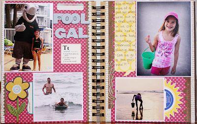 Summer album page 6-7