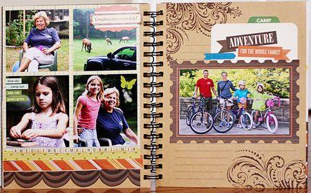 Summer album page 12-13